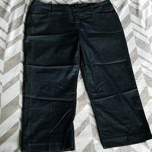 Mossimo Stretch Capri Pants Sz 14